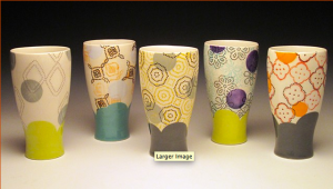 Dot Dot Dash Tapered Tumblers 2012